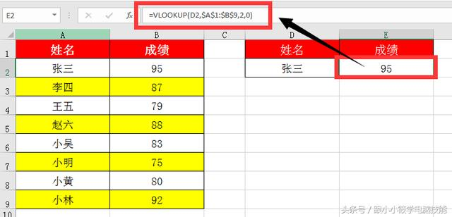 VLOOKUP函数单条件单结果的查询你会吗?图文超详细教程送给你!
