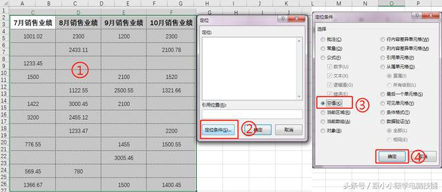 「Excel技巧」空位处补0有方法,定位还是替换你来选!