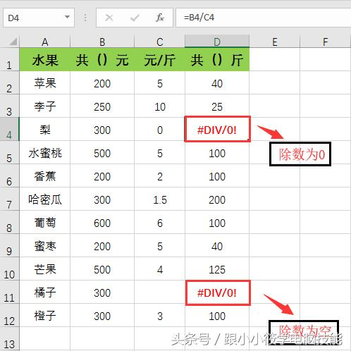 用了6年Excel,这7个最常见的「错误值」总算都被我遇见一次!